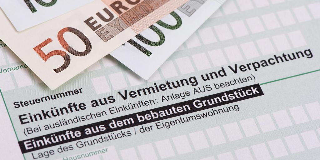 Bild Vermietung und Steuern
